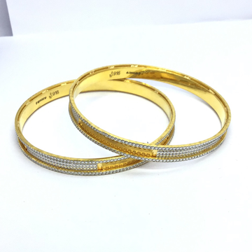 FANCY GOLD BANGLES FOR LADIES by