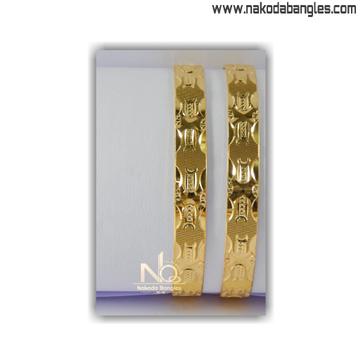 916 Gold Khilla Bangles NB - 1399
