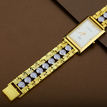 916 Daily Wear Gold Mens Watch-MW06