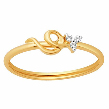 18k gold real diamond ring mga - rdr0039