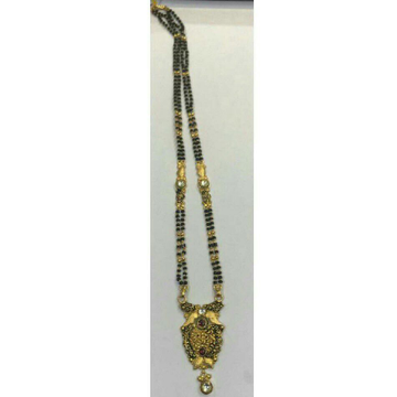 22K / 916 Gold Antique Jadtar Ladies Yellow Mangalsutra