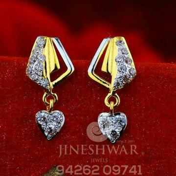 18kt Attractive Cz Gold Fancy Ladies Tops ATG -0495