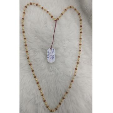 22 carat gold traditional gents rudraksha mala RH-GM9356
