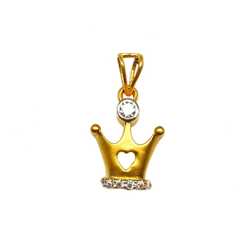 22K Gold King Pendant MGA - PDG1188