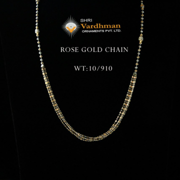 18k fancy light weight chain