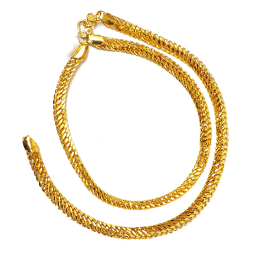One gram gold forming payal anklets mga - op001