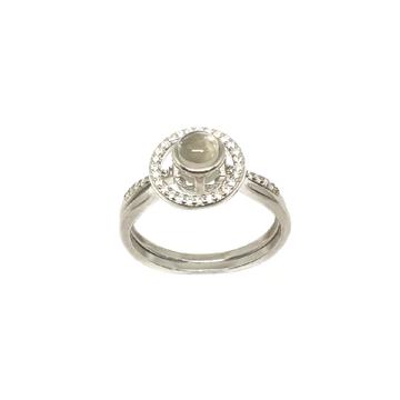 925 Sterling Silver Designer Ring MGA - LRS3445