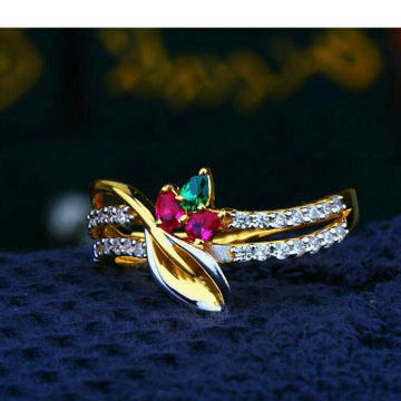 Pretty Cz Ladies Ring LRG -0132