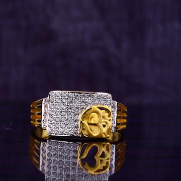 916 Cz Om Symbol Ring MGR86
