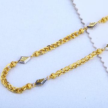916 gold exclusive men's choco chain mch96