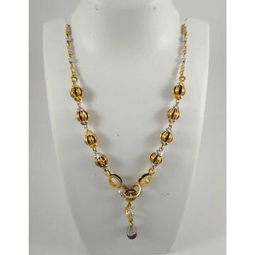 22 K Gold Pendant Chain NJ-P0117