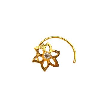 18K Gold Modern Nosepin MGA - GN008
