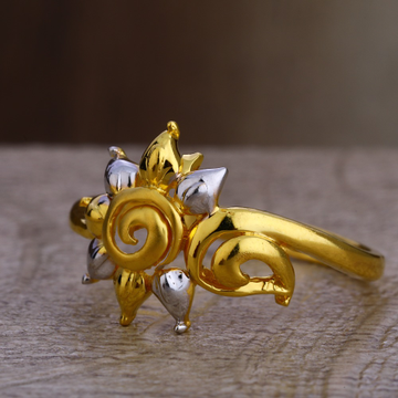 916 Gold Ladies Hallmark Exclusive Plain Ring LPR391