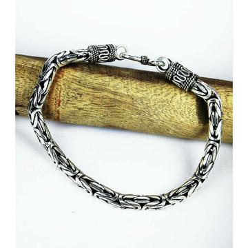 Stylish 925 silver gents bracelet