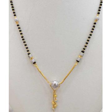 916 gold chain mangalsutra RJ-M024