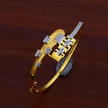 Ladies Gold Kada Bracelet-LKB65