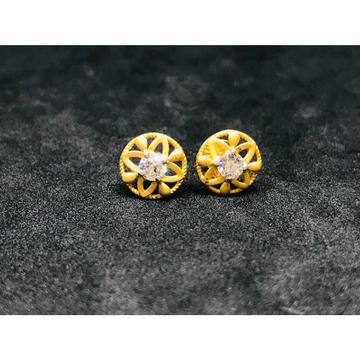22k Ladies Fancy Gold Earring E-62505