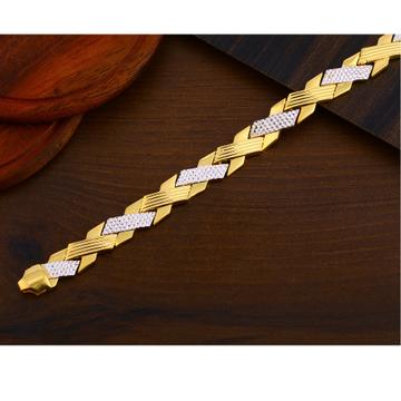 916 Gold Plain exclusive Men's Bracelet MPB276