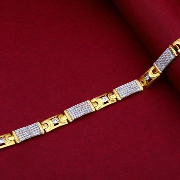 22KT Gold Stylish Bracelet For Men