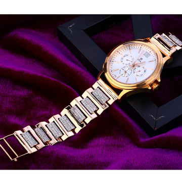 750 Rose Gold Designer Mens Watch RMW11
