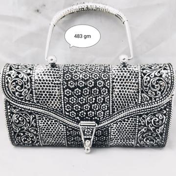 Silver purse jys0007