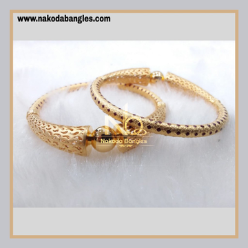 916 Gold Pipe Bangles NB - 887