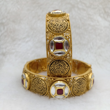 916 antique jadtar bangles