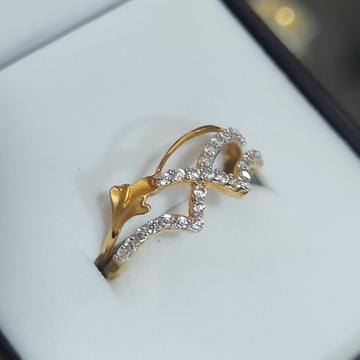 ledis CZ ring by Parshwa Jewellers