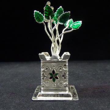 Silver Tulsi Kyara by