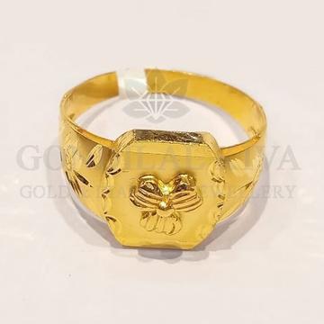 22kt gold ring ggr-h63