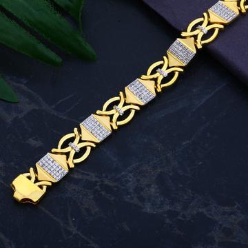 916 Gold Designer Stylish Bracelet MCB78