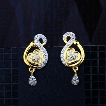 916 Gold CZ Earring RH-ER084