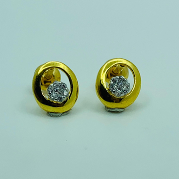 22ct gold round tops by