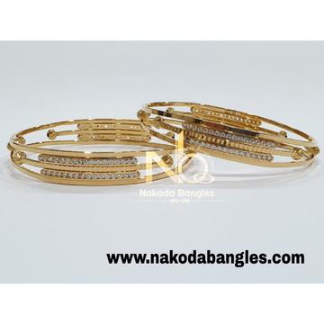 916 Gold CNC Bangles NB - 988