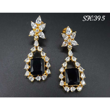 Beautiful Cz Earrings#1057
