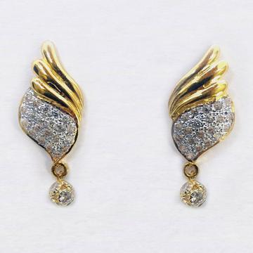 24kt 916 Gold Earrings by