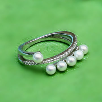 925 Sterling Silver Pearl Ring PJ-R035