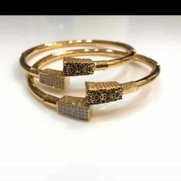 Gold Bangle Ledeis Wear by