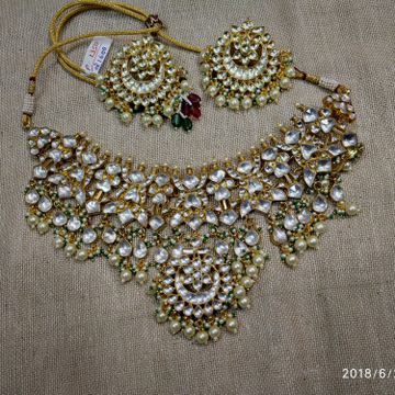 Jadtar necklace set p 1350