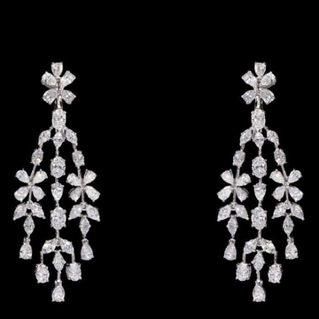 Diamonds Ear Hangings JSJ0023