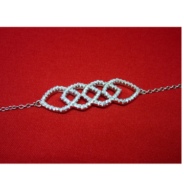 Silver 925 officewear bracelet sb925-17