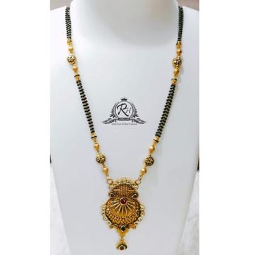 22 carat gold stylish manganlsutra for girl RH-MN040