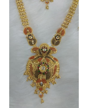 22 k 916 gold necklace with errings by