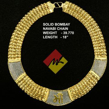 Hollow gold chain ml-1