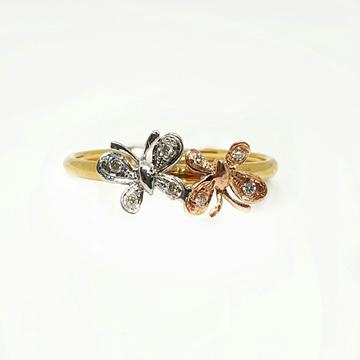 18K Gold Real Diamond Ring MGA - RDR0026