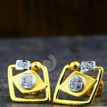 18kt fancy Beuty Shiner Gold Cz Ladies Tops ATG -0273