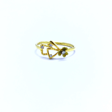 REAL DIAMOND FANCY FLOWER RING by