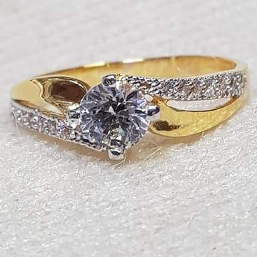 22 carat gold  ladies diamond ring RH-GR348