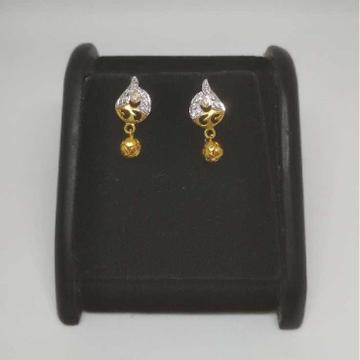 22 K Gold Fancy Earring. NJ-E0935