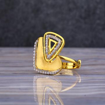 916 Stylish Cz Ring LLR115